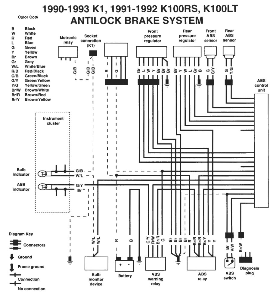 With 7 Pin Trailer Connector Wiring Diagram For Abs | Best Wiring - Semi Trailer Wiring Diagram With Abs